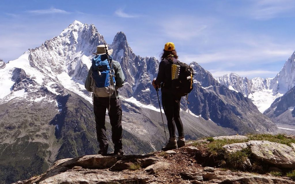 mountain range alpine holiday inspiration