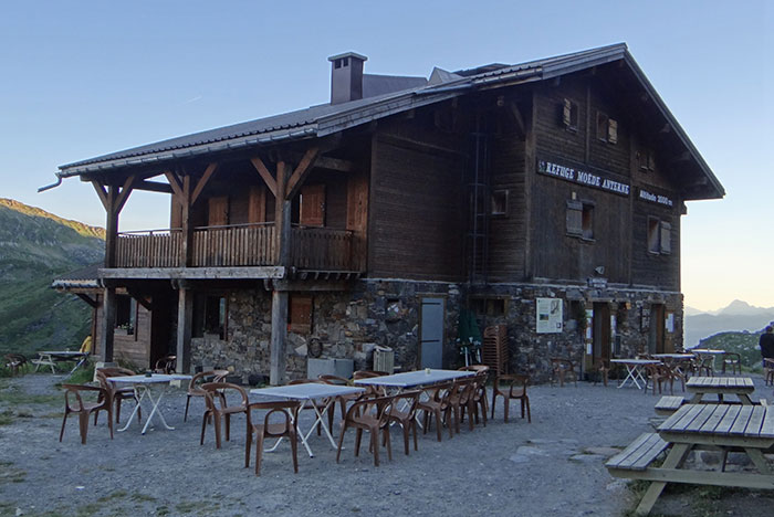typical mountain hut