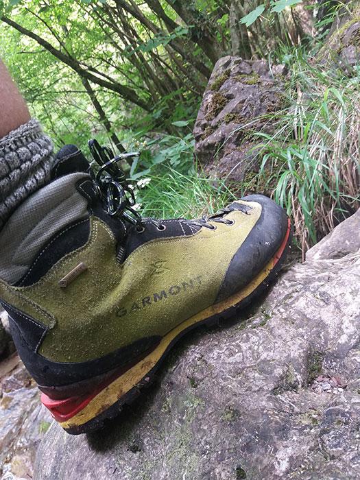 Harmony Italian B2 summer boot - Summer Alpine Trekking Gear