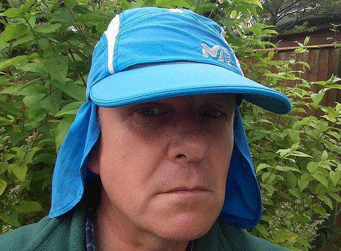Millet peaked sun hat